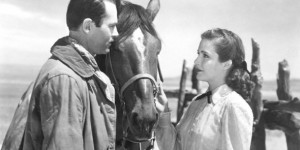 Tim Holt and Cathy Downs in My Darling Clementine, 1946.