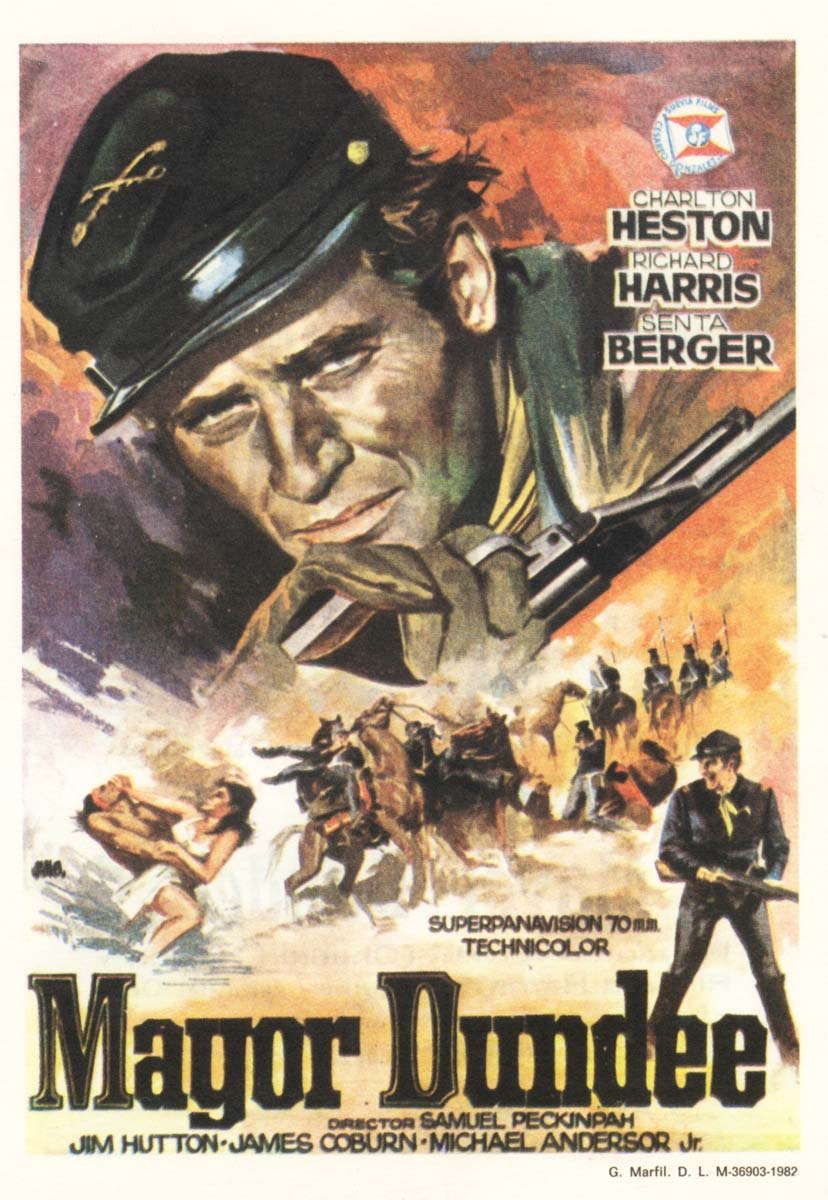 Major Dundee Great Western Movies