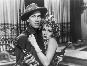 James Stewart - destry rides again - & Marlene Dietrich