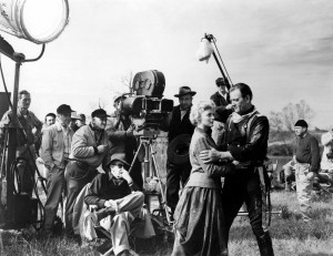 John_Wayne - the horse soldiers - & Constance Towers, John Ford