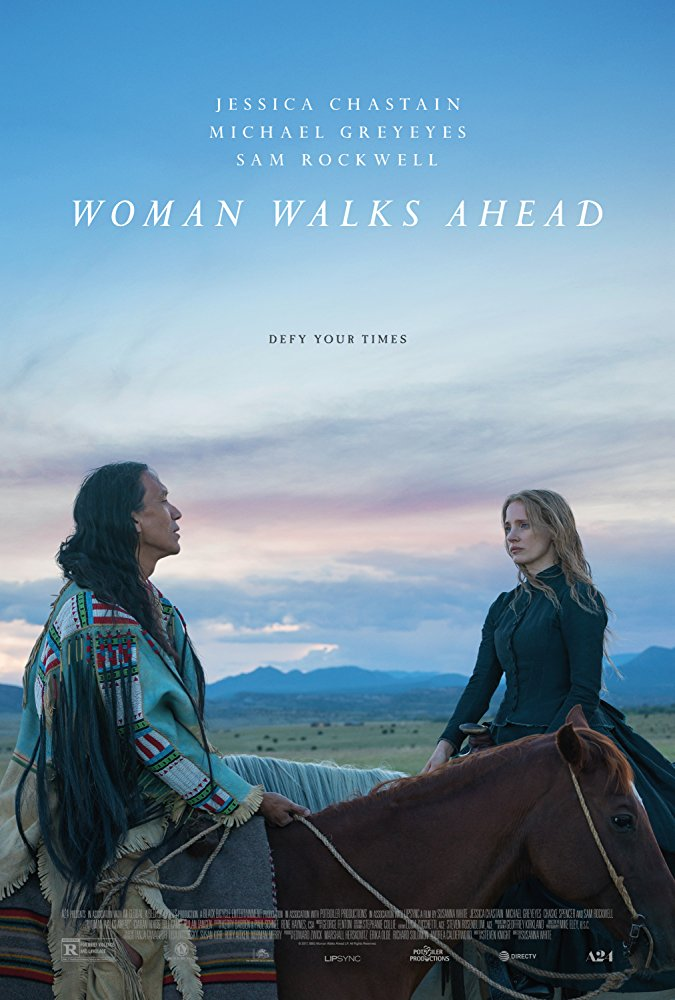 Woman Walks Poster