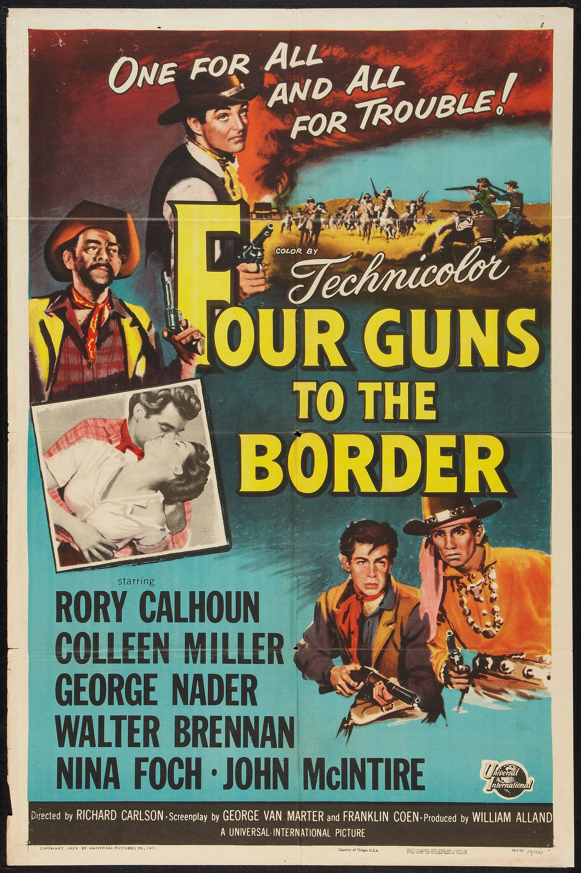 louis l amour archives great western movies 4gunsborderposter 4gunsbordertall